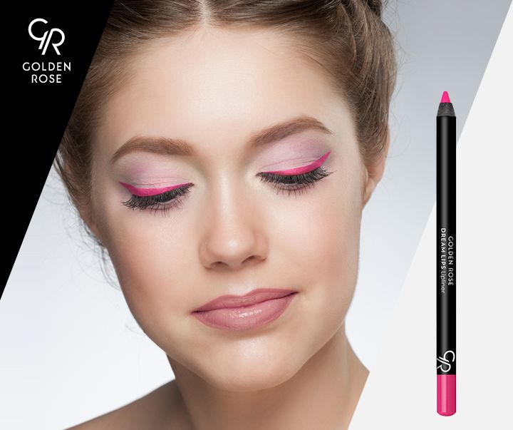 Co powiecie na kocie spojrzenie w stylu Różowej Pantery? Skusicie się na Dream Lips nr 509 zamiast kredki do oczu? :)