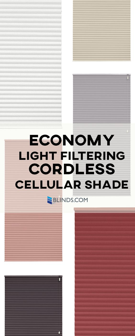 blindscom economy light filtering cellular shades are our bestvalued cellular shades