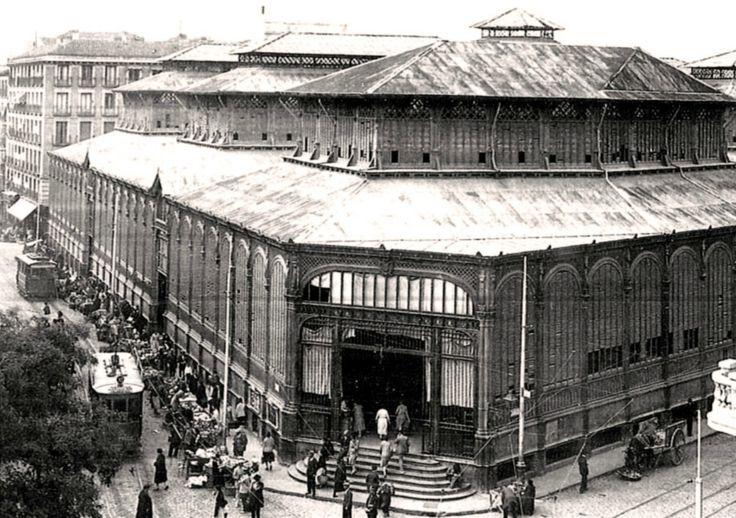 Plaza de la Cebada. 1920