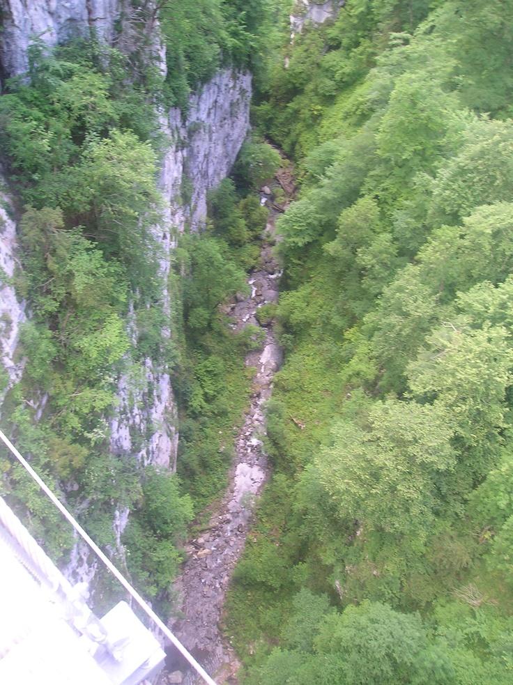 C'est haut!!! Pays basque