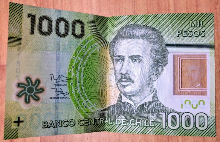 Chilean Currency Bank Notes Traveling By Yourself Chilean