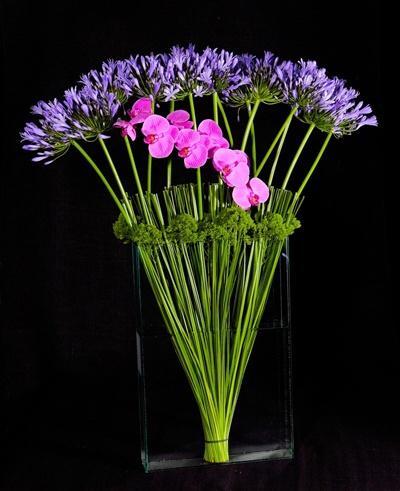 Ovando Floral NYC- Flowers as sculpture medium