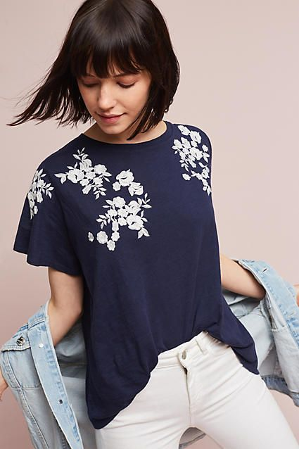 Akemi + Kin Sasha Embroidered Top, affiliate link