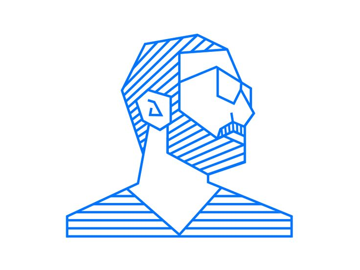 trying new style of icon illustrations starting by illustrate myself.