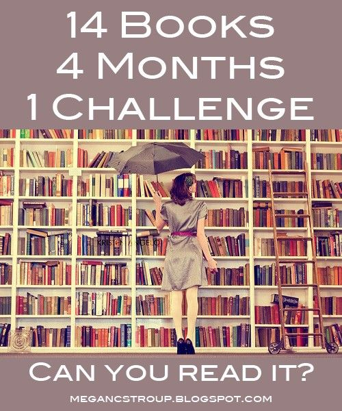 reading challenge. I wonder if I could do this...