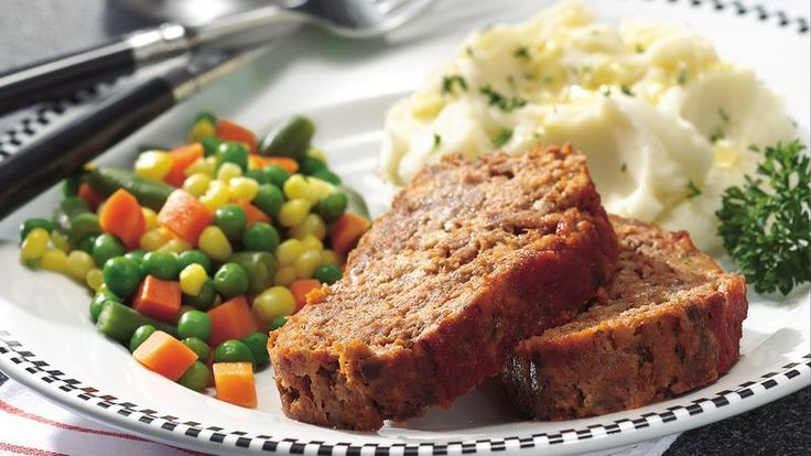 A Betty Crocker Kitchens favorite, this herb-flecked meatloaf is everything a good meatloaf should be!