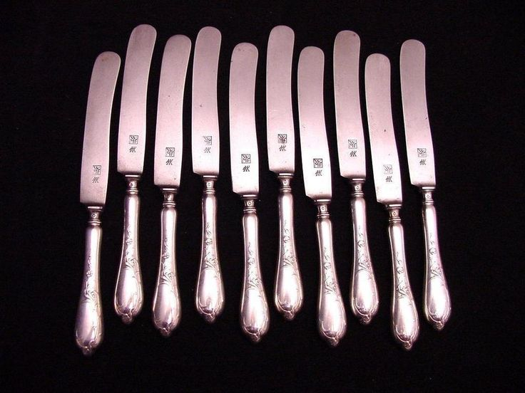 10 art nouveau WMF small knives #WMF