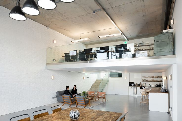 Branch --We were appointed to create a new office space and maximize the floorspace for a production studio. The clients wanted separate office spaces