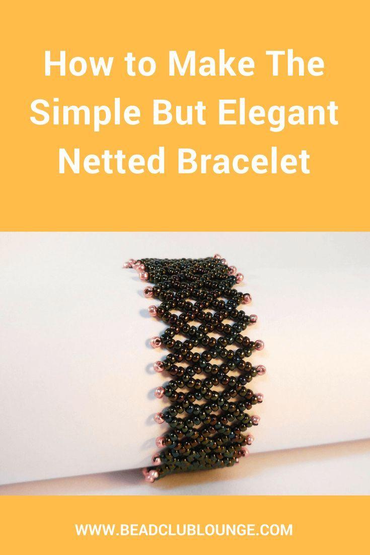 Basic netting | beading techniques | fusion beads.