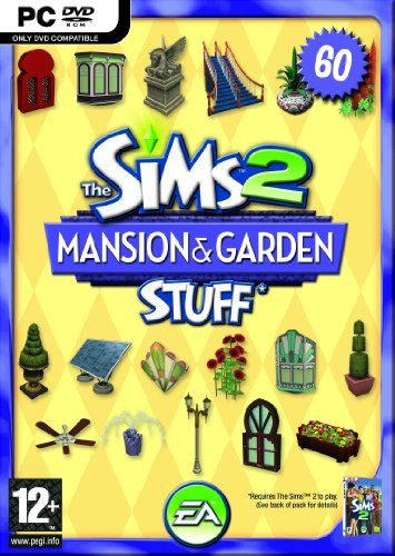 The Sims 2 Mansions & Garden Stuff Pack for The Sims 2 (PC DVD): The Sims 2: Amazon.co.uk: PC & Video Games