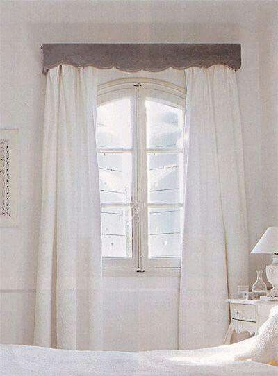 M s de 1000 ideas sobre cortineros modernos en pinterest for Cortinas opacas blancas