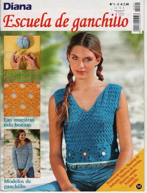 Patrones para Crochet: Escuela de Ganchillo Tutoriales