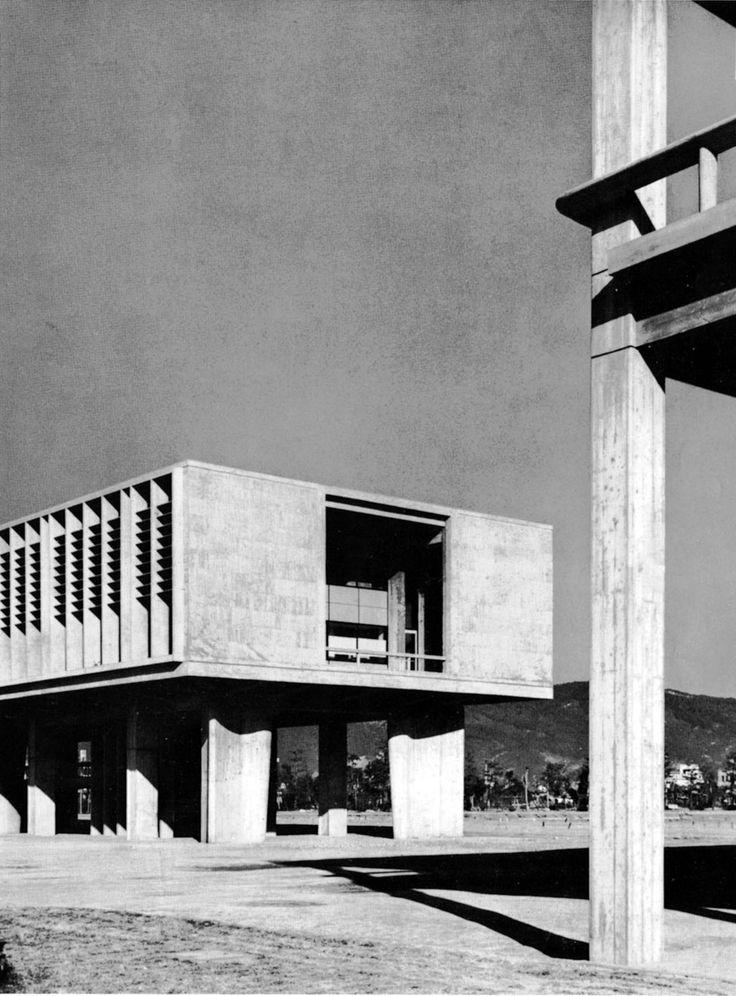 Hiroshima Peace Centre, Hiroshima, Japan. Kenzo Tange 1946-56