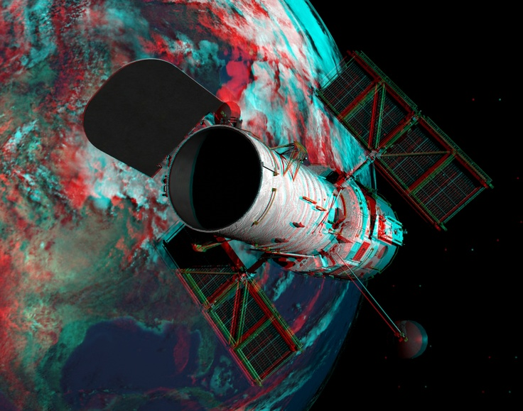 Hubble - anaglyph by *meegja on deviantART