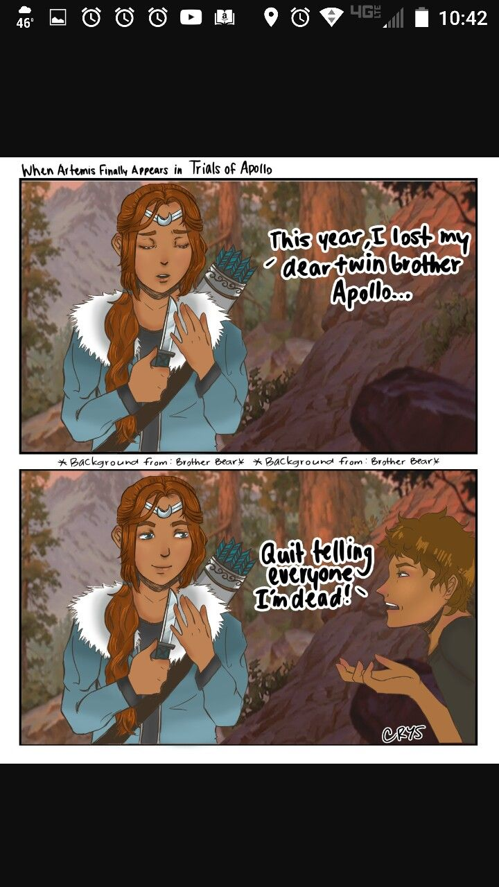 artemis and apollolester trials of apollo pinterest