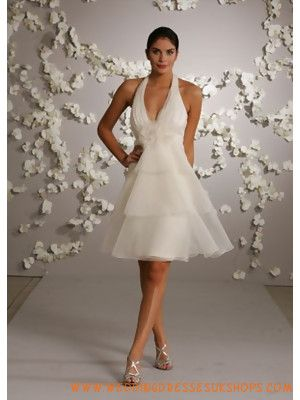 146 best Short wedding dresses images on Pinterest | Short wedding ...