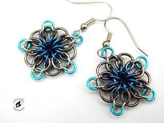 Z kociołka czarownicy: Czarne dziury - Celtic Star earrings