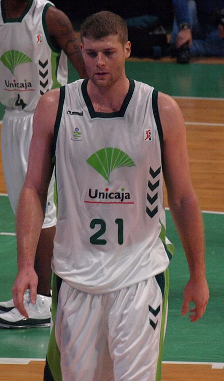 "Oh my.  Just an old lady's crush, many years ago.  Robert Archibald, former ""big man"" for the Fighting Illini Basketball team, played in the NBA, then in Europe, then for Great Britain in the Olympics.  Now retired from Basketball.  *sigh*  It's sad when your crushes retire!"