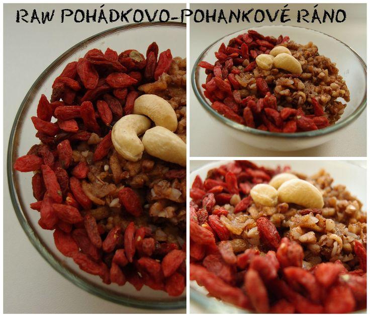 Raw pohanková kaše s jablíčkem