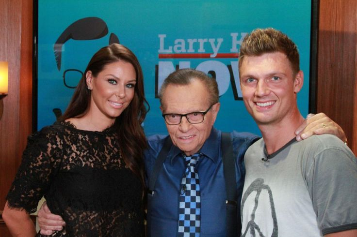 """Newlyweds Nick Carter and Lauren Kitt Carter sit down with Larry King to discuss their new reality show """"I Heart Nick Carter"""" on VH1 and how they felt something special from their very first date. ..."""