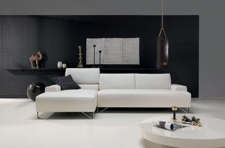 Natuzzi Leren Fauteuil.Fly Zitbanken Stof Leer Natuzzi Living Rooms Chaise