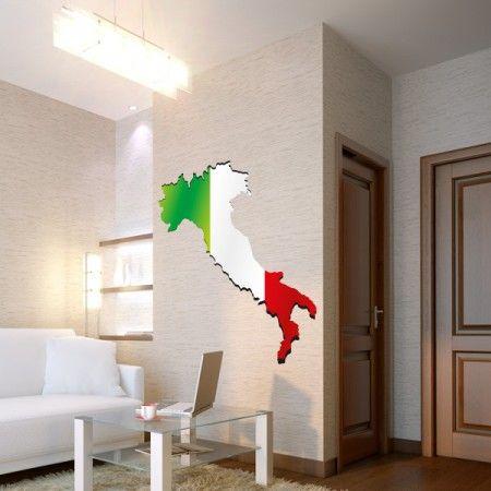 Du bist ein waschechter Italiener? Dann ist dieses Digitale Landkarte von Italien genau das Passende für dich. #Italien #Landkarte #Digital #Wadeco // http://www.wadeco.de/landkarte-italien-3-digital-wandtattoo.html