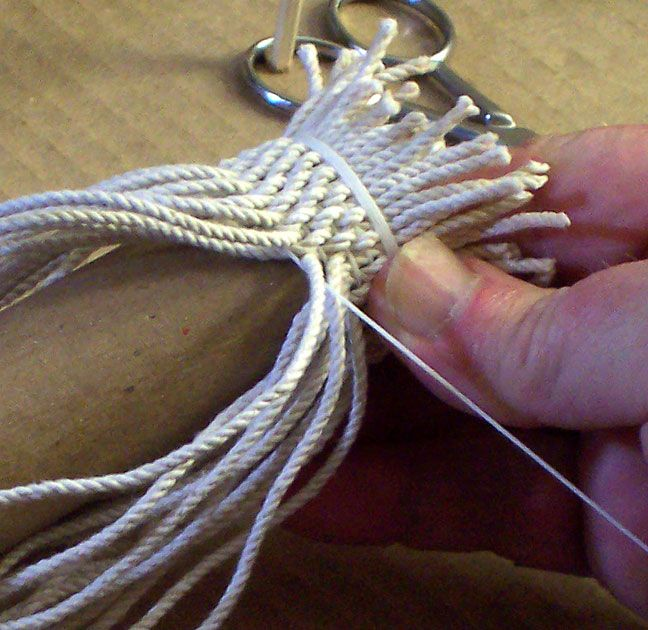 SIMPLE GRAFTING -  Just think of the awesome tassels you can make!
