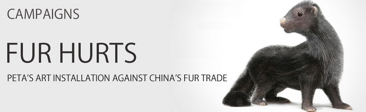 """Read more: https://www.luerzersarchive.com/en/features/campaigns/petas-art-installation-against-chinas-fur-trade-333.html PETA'S ART INSTALLATION AGAINST CHINA'S FUR TRADE PETA Asia's art installation campaigns against Chinese fur trade. To raise awareness in China about unethical fur farming practices, People for the Ethical Treatment of Animals (PETA) Asia and Ogilvy & Mather, Beijing have launched an integrated campaign, """"Fur Hurts,"""" with a provocative art installation and corresponding…"""