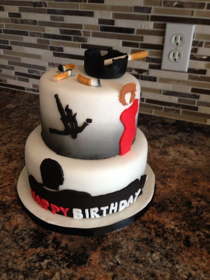 Mad Men Cake Cakes By Just Iced Custom Cakes Pinterest