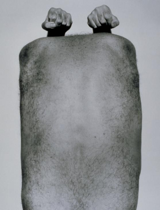 John Coplans, 'Self-Portrait (Back with Arms Above)' 1984