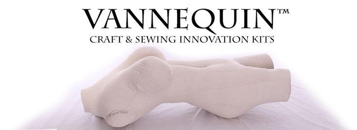 Vannequin are Educational sewing Projects.  Create a body pillow- dress form -mannequin vannequinbodyform.blogspot.com www.vannequin.com