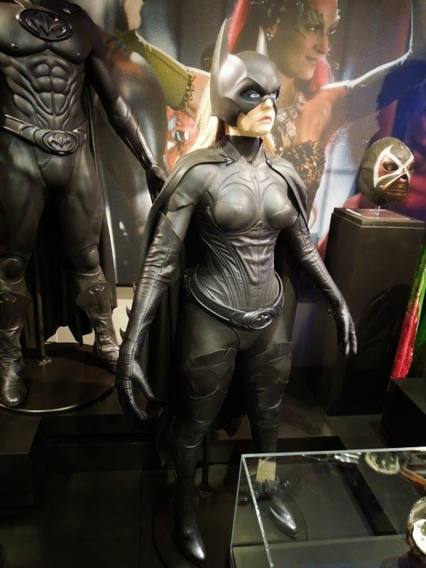 Alicia Silverstone's Batgirl movie costume and more from Batman & Robin on display...