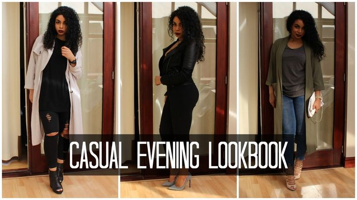 CASUAL EVENING OUTFITS LOOKBOOK | vanessardnls