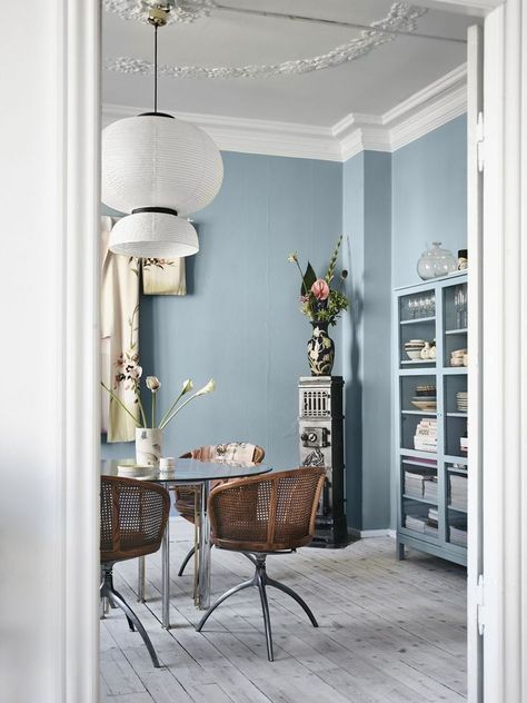 10 Perfect Scandinavian Blue Paint Colors For Your Home Coco Kelley In 2020 Blue Living Room Blue Paint Living Room Living Room Scandinavian