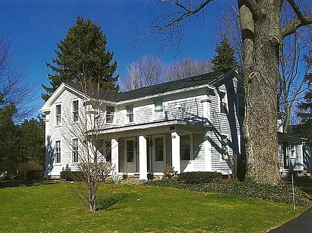Love This Type Of Greek Revival Upright And Wing Farmhouse Greek Revival Architecture