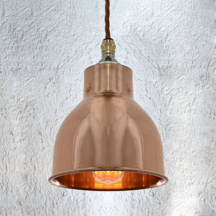 Factory Pendant Small Copper LightsCeiling