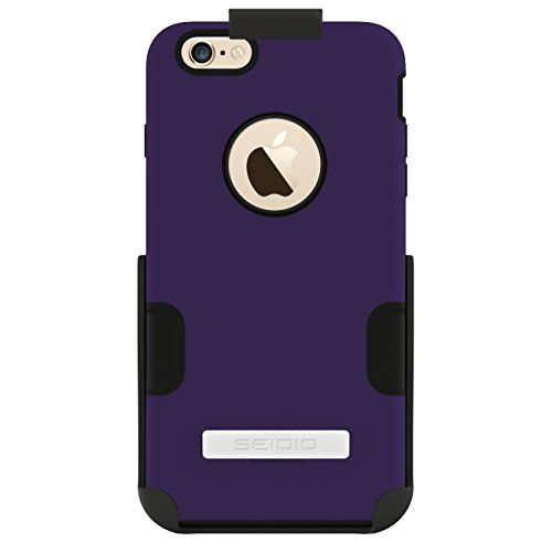 Buy Seidio DILEX iPhone 6 Plus Case with Metal Kickstand and Holster Combo - Retail Packaging securely online today at a great price. http://phonecasesfromthebest.com/iphone-6-cases/