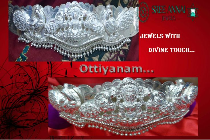 Ottiyanam @Sree Annai Jewels   Dear All Today's Gold rate is Rs 2645 Silver 45.50  This Original Silver Rnagas Odiyanam Introduced Rs 35000/ micro plating free !! Contact Sree Annai Jewels 9994948767