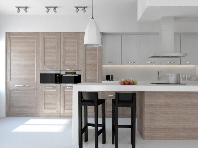 Die besten 25+ Moderne Küchendesigns Ideen auf Pinterest moderne - moderne kuchen holz naturmaterial