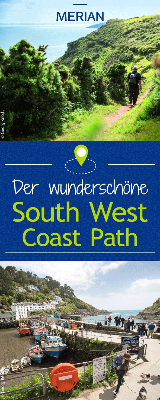 Wir haben für euch drei tolle Wanderwege entlang des South West Coast Path, dem schönsten und längsten Fernwanderweg Englands.