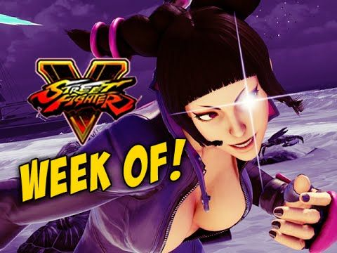 WEEK OF! Juri - Street Fighter 5 Online Matches Pt.1