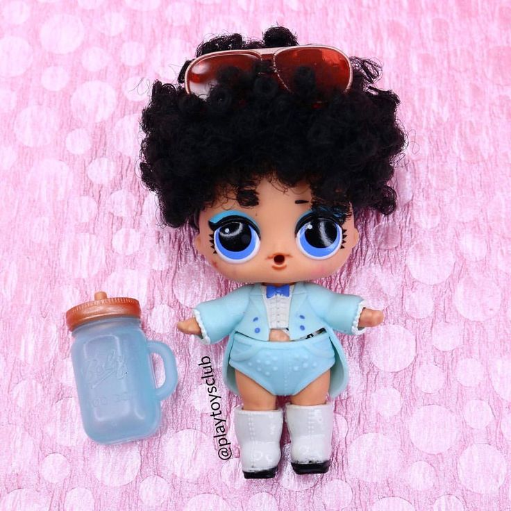 Картинки самодельных кукол лол с волосами