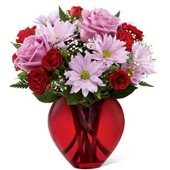 #bowmanvilleflowers #valentinesday #giftideas #roses #red #love #sparkleroses #chocolatecoveredstrawberries #teddy #bear The FTD® All You Need Is Love™ Bouquet | Bowmanville, Courtice, Newcastle, Oshawa, Whitby Flower Delivery