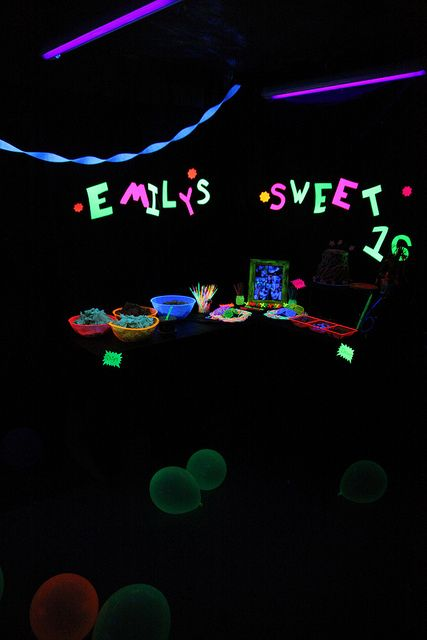 <p>If you are planning a blacklight party and stumbled upon this blog please please please do not go to one of those blacklight party supply websites to order items for your party, unless you have the large budget to be able to do so. Most of their stuff was double …</p>