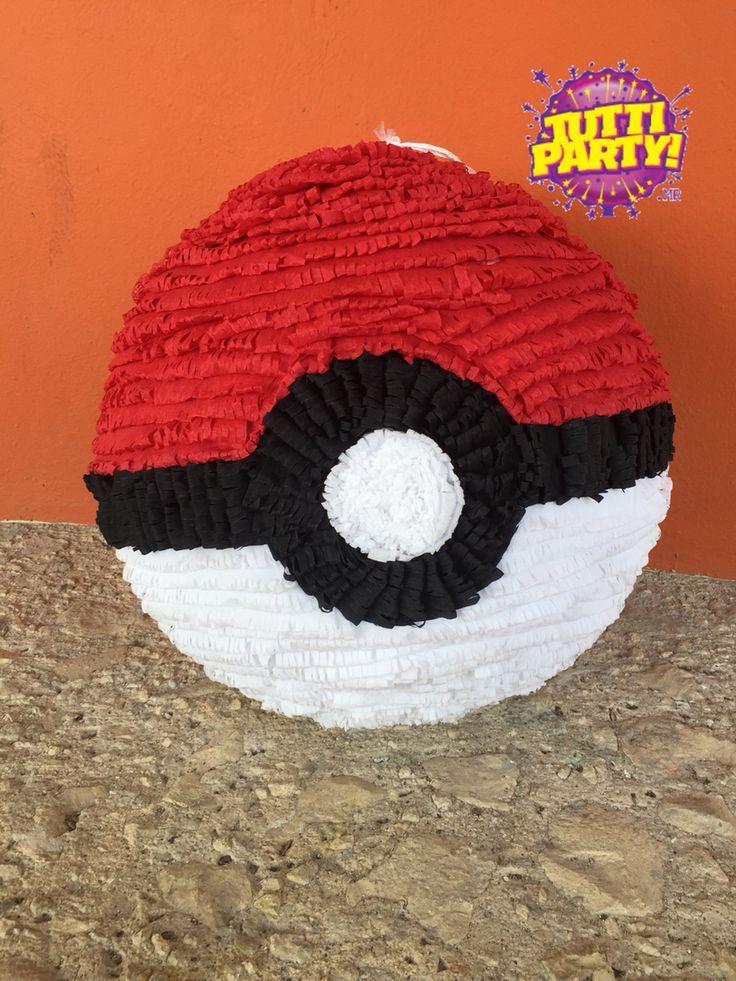 Pokeball Pi 241 Ata Pokemon Party Ideas Pokebola En Pi 241 Ata