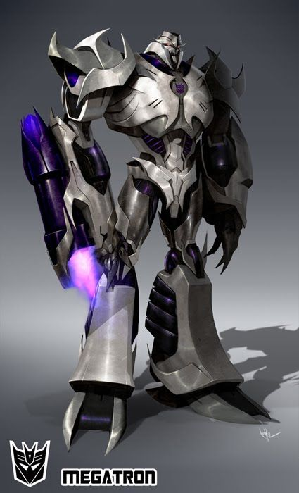 Transformers Prime Curious George......uh, I mean Megatron