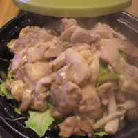 鶏もも肉とキャベツのタジン鍋