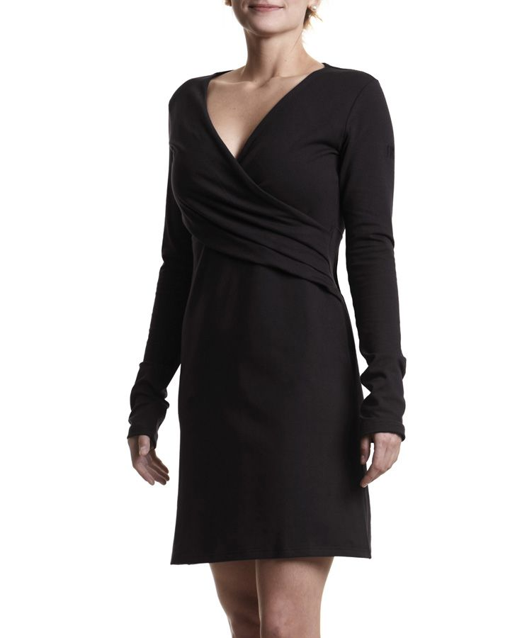 OKI #dress #classy #chic #MadeinCanada #FIG #Clothing $95 CAD http://www.figclothing.com/en/collections/voyage/fall-2013/oki-10-207/