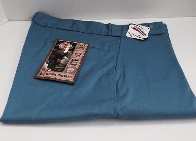 "Dickies Men's Work Shorts 13"" Inseam Loose Fit Size 38 Light Blue #Dickies #CasualShorts"