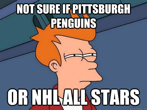 Not sure if Pittsburgh Penguins Or NHL All Stars